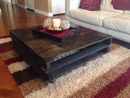 Rustic Coffee Table Diy Fantastic Rustic Black Coffee Table Diy Rustic Black Pallet Coffee