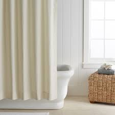Ivory Shower Curtain Shower Curtains Williams Sonoma