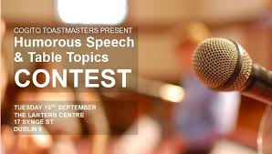 toastmasters table topics contest questions humorous speech and table topics contest cogito toastmasters dublin