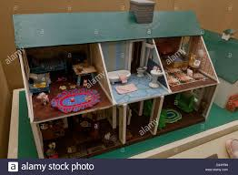 vintage cape cod style dollhouse stock photo royalty free image