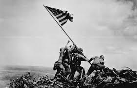 Black Jihad Flag Roscoe Reports 1945 Us Marines Raise Flag On Iwo Jima