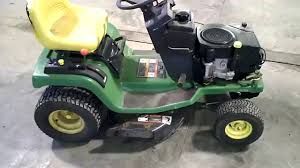 lot 2370a john deere stx 38 black deck tear down for parts youtube