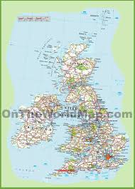 Map England by Map Of United Kingdom Black
