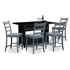 value city furniture dining room sets the cordoba chocolate ii
