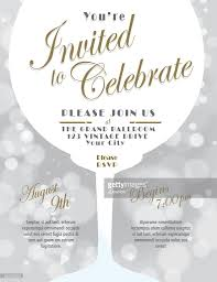 despedida invitation sparkling wine tasting invitation template design silver