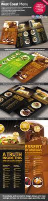 pages menu template 60 restaurant food menu graphic designs 2014 part 1