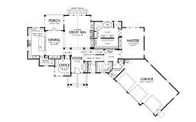 vacation home floor plans canterville craftsman home plan house plans more house plans 48915