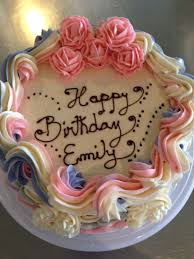 our simple colourful birthday cake swiss meringue buttercream
