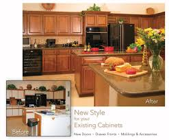 Kitchen Cabinet Refacing Materials Hand Made Cabinet Refacing Before And After By Hi Lo Industries
