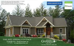 cottage home plans mill cottage house plan house plans by garrell associates