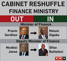 South African Cabinet Ministers Pictures Infographic Finance Ministry Moves Cabinetreshuffle