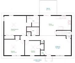 floor houselans ranch home and more simple small house