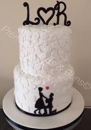 Tim Burton Themed 30th Birthday Cake My Lovely Cakes Premier