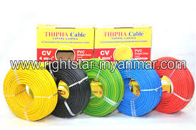 electric cable u0026 wire right star electric store myanmar