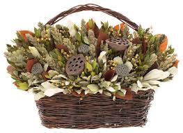 Traditional Flower Arrangement - tuscan lotus artificial arrangement traditional artificial