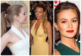 pictures of hairstyle neck line prom hairstyles that match your dress hair world magazine