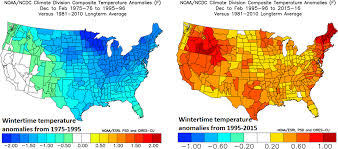 National Temperature Map Meteorologist Predicts Atlantic Cooling Reporting Climate Science