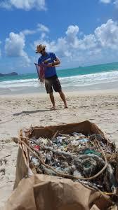 effort micro plastic removal at kalama beach park kailua