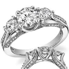 3 engagement rings unique three engagement rings wedding promise