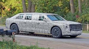 limousine bugatti spied president trump u0027s new limo spotted testing near milford