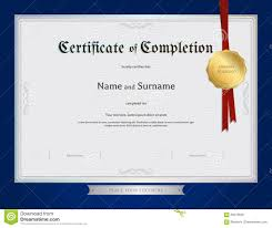 examples of certificates of completion sample of certificate of completion charity proposal sample blank