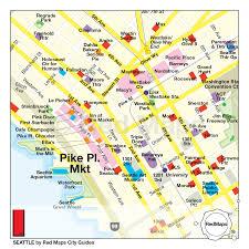 Maps Seattle Seattle Map U2013 Red Maps