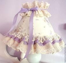 Buy Shabby Chic Decor by Buy Table Lamp In Lilac Lace Baby Shabby Chic Style On Livemaster