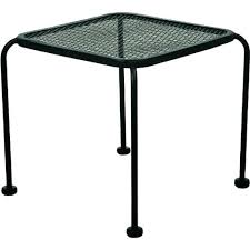 Wrought Iron Patio Side Table Side Table Back To Coffee Tables Vintage Wrought Iron Patio Side