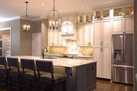 platinum kitchens double stacked upper cabinets love these lights