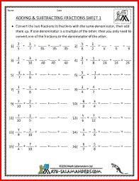 adding fractions worksheet 5th grade 12 best 5th grade math images on fractions worksheets