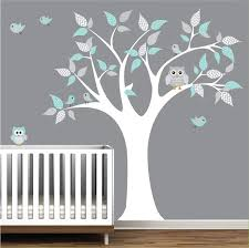 Nursery Owl Wall Decals Owl Wall Decals Cool Nursery Wall Stickers Wall And Wall