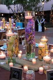 unique centerpieces wodnerful diy unique floating candle centerpiece with flower