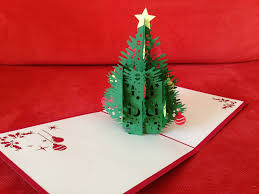 pop up tree christmas tree pop up card markets online