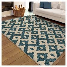 Area Rugs Blue Ideas Blue And White Area Rugs Orian Family Crest Promise Indoor Outdoor Rug Photos Jpg