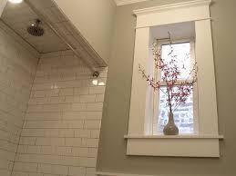 shower tile trim on basement windows new bathroom pinterest