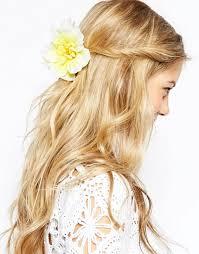 hair corsage asos asos tropical flower hair corsage