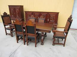 Antique Dining Room Table by Antique Dining Set Table Sideboard Server Bar Dining Chairs