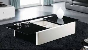 modern black end table awesome coffee modern black glass table white my new u rs of ideas