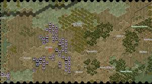 Battle Of Kursk Map Real And Simulated Wars February 2014