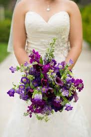 purple wedding bouquets purple bridal bouquets orange blossom