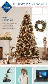 holiday preview catalog sam u0027s club
