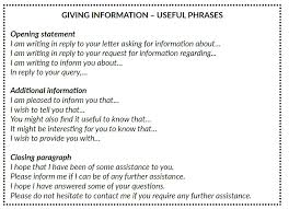 Formal Letter Asking Information formal letters giving and requesting information stanagexpert