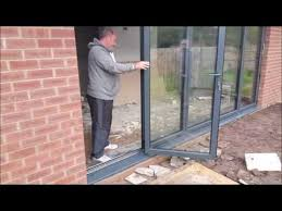 Patio Doors Belfast New Aluminium Sliding Folding Bifold Doors Fitted In Mount Merrion