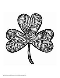 scribbleprints st patricks day coloring page