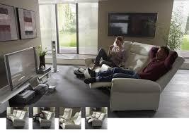 sofa mit elektrischer relaxfunktion ledergarnituren lagerverkauf de styling mit kleine preise
