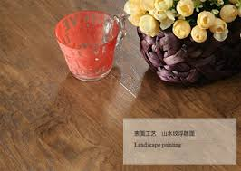 click interlocking pvc no glue vinyl plank flooring from china