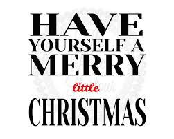merry christmas modern merry little christmas art print by the paper parlour the paper