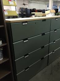 Lateral Office File Cabinets Used Office File Cabinets 4 Drawer Lateral Size File Cabinet By