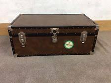 Steamer Trunk Coffee Tables - steamer trunk vintage u0026 antique trunks ebay