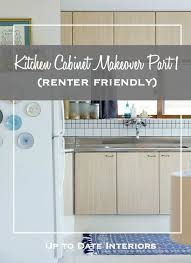 kitchen cabinet makeover ideas try this easy kitchen cabinet makeover that s renter